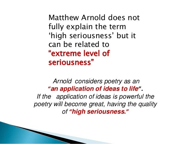"""C.Day.Lewis wrote in his book  """" Gneithe de shaol an duine""""  """"The Elements of human life """"  """"Seriousness is an attitude of..."""