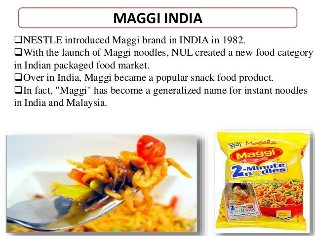 Maggi noodles swot analysis
