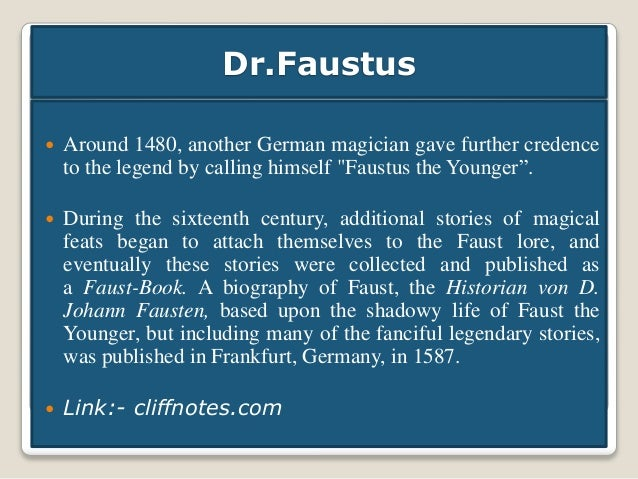 Doctor faustus essay secondrate magician