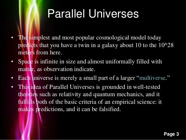 the theory of parallel universes Bbc - science & nature - horizon - parallel universes anything is possible in this extra-dimensional cosmos perhaps out there in space there is another universe.
