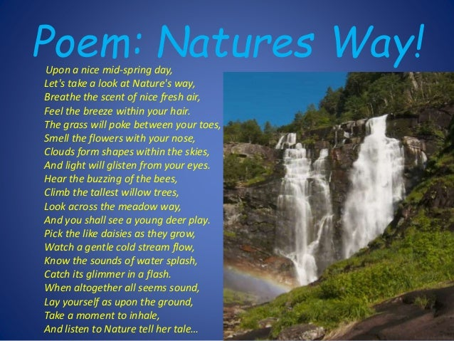Nature Poems | Examples of Nature Poetry