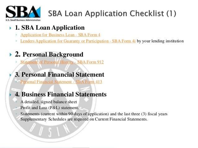 U.S. Small Business Administration Programs