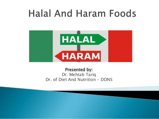 halal and