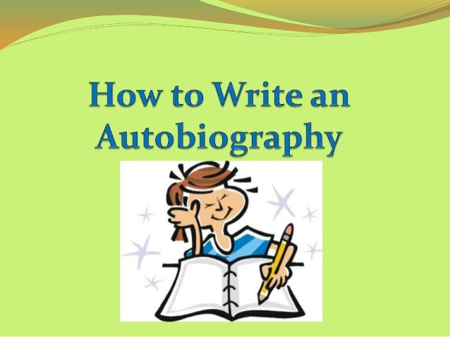 write an autobiography When i was a senior at kent state a good friend of mine at the time, marianna  hewitt, who is now a famous fashion blogger, suggested i start.