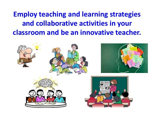 Collaborative Teaching Methods ~ Collaborative learning activities