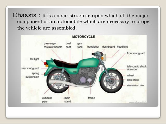 Two wheeler and its chassis