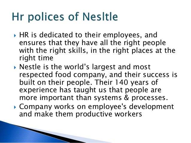 nestle employee empowerment