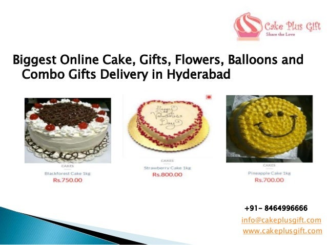 Biggest Online Cake Gifts Flowers Balloons And Combo Delivery In Hyderabad