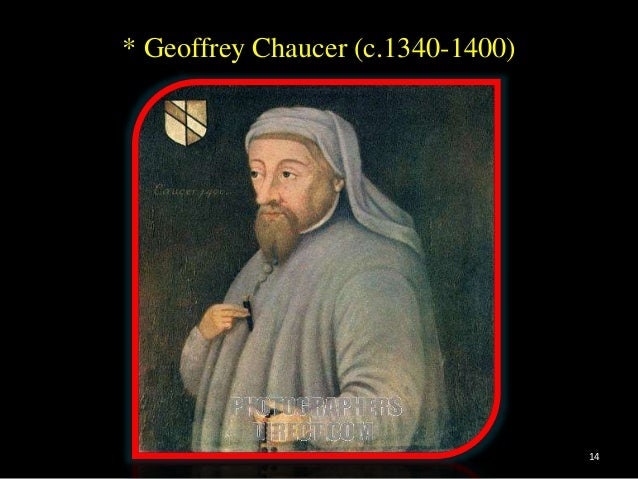 age of chaucer Papers should primarily address issues relating to europe and its influences, ideas, and traditions in the age of chaucer and his contemporaries,.