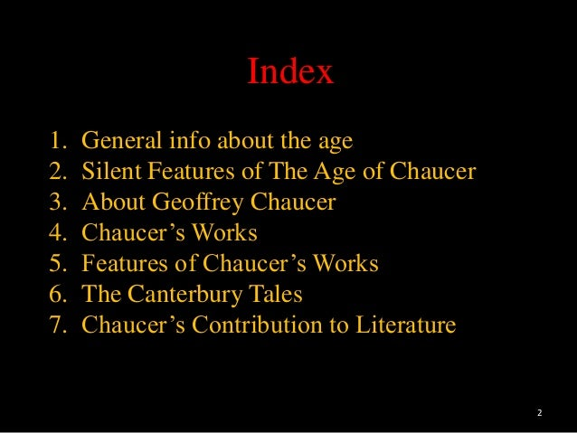 """chaucers contribution Chaucer's realism in """"the canterbury tales chaucer's contribution to english language and versification chaucer's art or technique of characterization in."""
