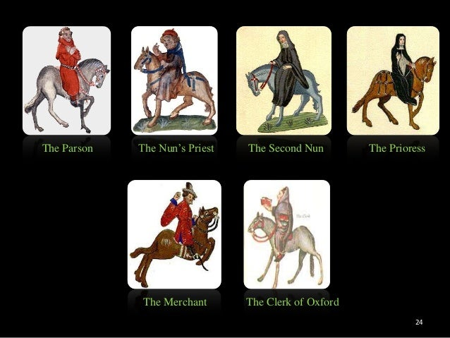 clerk squire contrast canterbury tales Need help with general prologue in geoffrey chaucer's the canterbury tales in contrast with the.