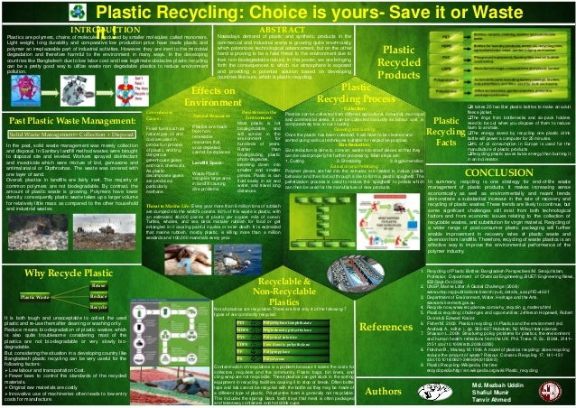 Plastics are polymers, chains of molecules produced by smaller molecules called monomers. Light weight, long durability an...