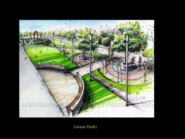 Landscape Architecture Greening The Areas With Respect To Neighbourho