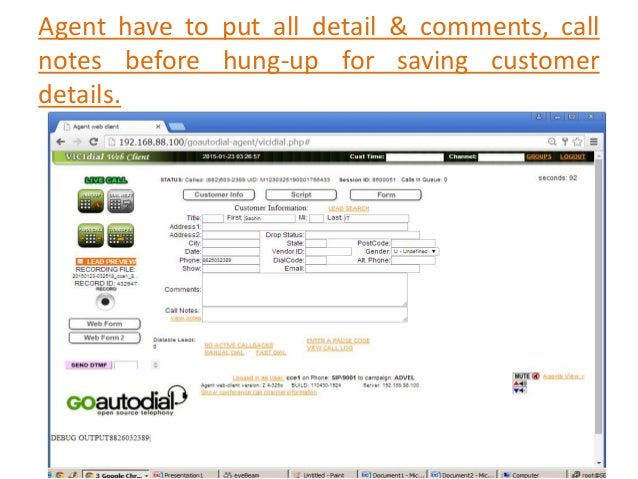 How to use Goautodial