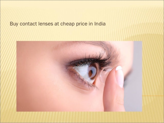 Buy contact lenses at Discounted price