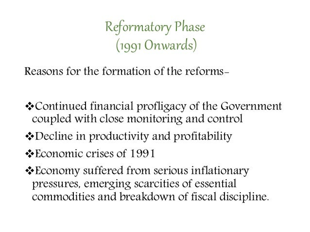 Banking reforms and its impact in