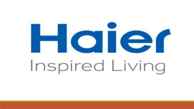 innovation on electronic products by haier rh slideshare net