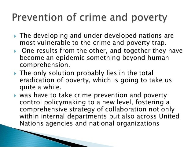 is poverty a crime Summary: many people believe that racial disparities in crime can be explained by the fact that black people are, on average, poorer than white people.