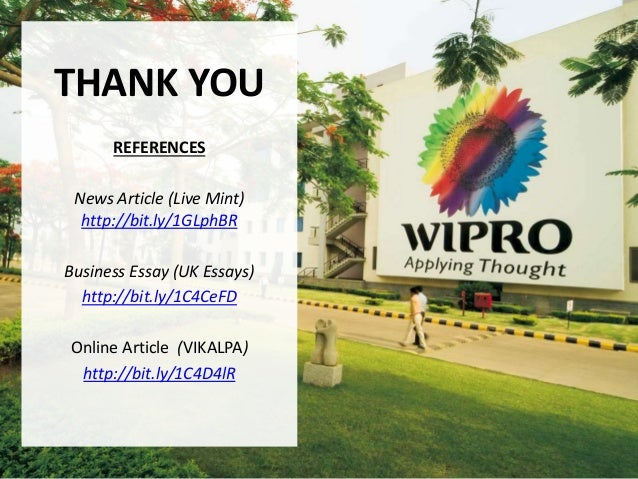 THANK YOU REFERENCES News Article (Live Mint) http://bit.ly/1GLphBR Business Essay (UK Essays) http://bit.ly/1C4CeFD Onlin...