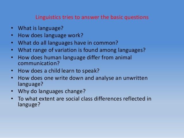 linguistics academic writing