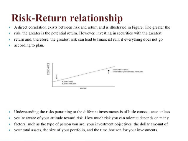 risk and return analysis for investors Risk return analysis of a stock and a bond add remove i have to analyze two securities, a stock and a bond: investment risk is the volatility of investment returns.