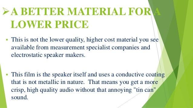 Speaker Thinnr Than Paper Pvdf Piezo Electric Film