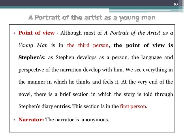 a portrait of the artist as a young man essay