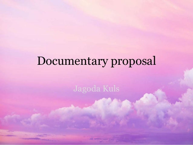 Documentary proposal Jagoda Kuls