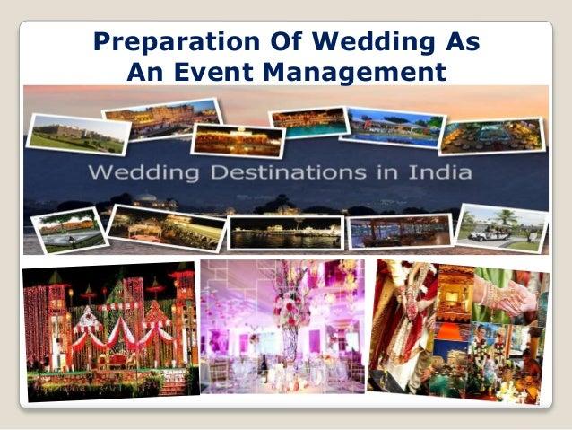 """""""Wedding Event Management"""" Slide 2"""