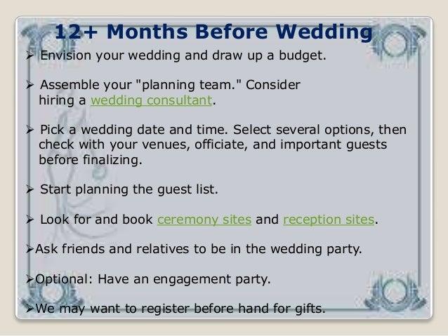 """""""Wedding Event Management"""" Slide 3"""