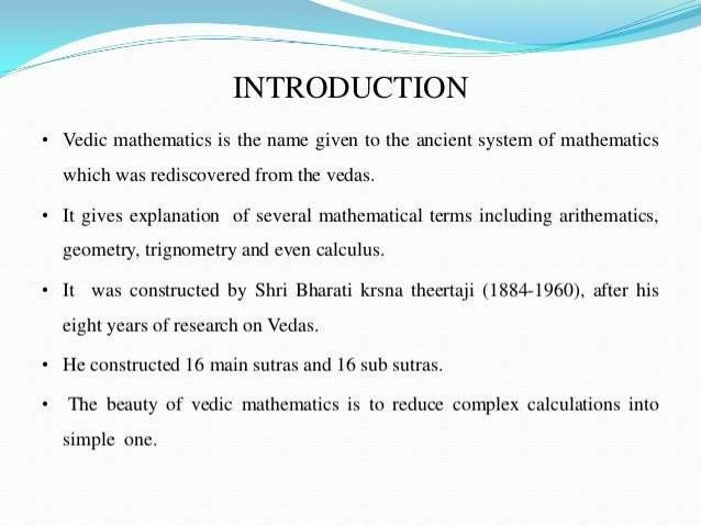 the history of maths Slide 3