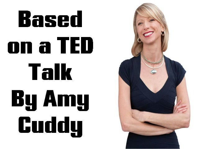 your body language discribe who you Body language affects how others see us, but it may also change how we see  ourselves social psychologist amy cuddy argues that power posing —  standing.
