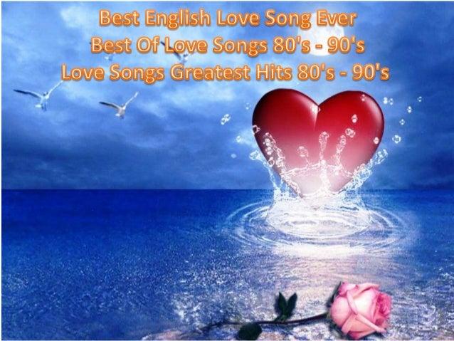 Top english love songs