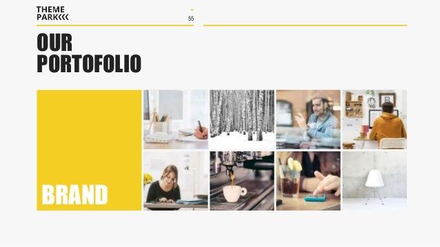 Themepark multipurpose powerpoint template 55 our portofolio brand toneelgroepblik Image collections