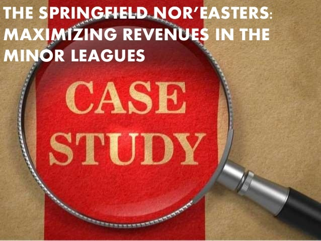the springfield nor'easters maximizing revenues in The springfield nor'easters: maximizing revenues in the minor leagues it was barely 8 am on january 19, 2008 and already larry buckingham knew this would be a.