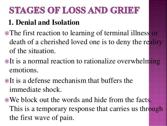 5 stags of grief essay Coping with bereavement - live well - nhs choices.