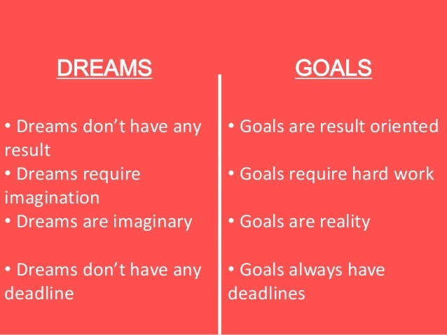 how to write life goals