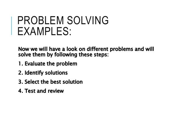 essays on problem solving You have a problem writing your problem-solution essay we have an easy 16-step guide that will help you get the grade you want.