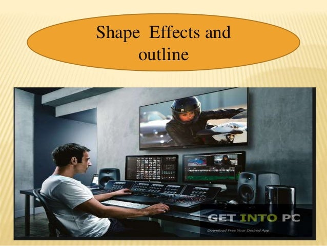 Shape Effects and outline