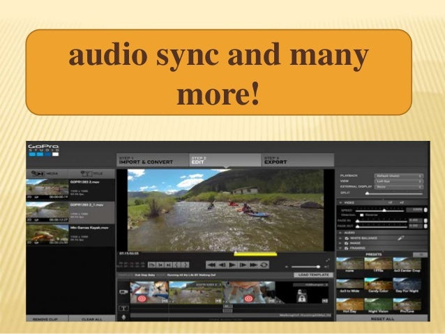 audio sync and many more!