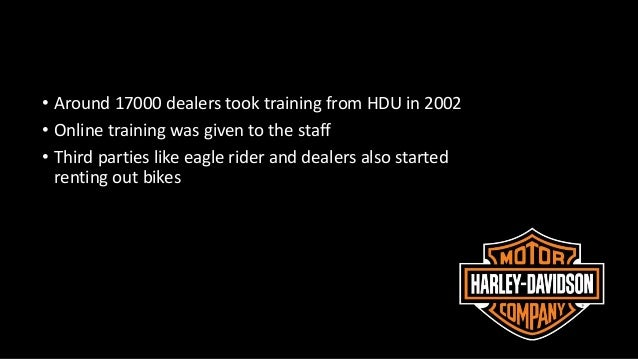 identify harley davidsons strategy Harley davidson case study  2 identify the company's core competencies  3 define harley-davidson's business strategy.