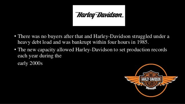 harley davidson strategy implementation Harley-davidson riders in prague say the love of  mission and positioning and their implementation  • creation of group strategy and its harmonization with.