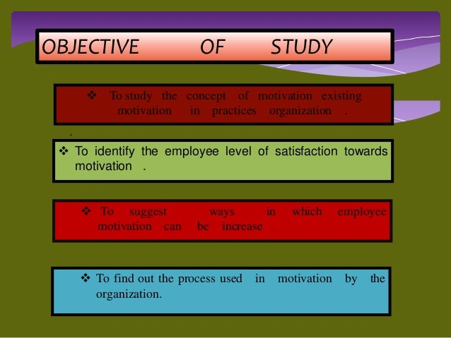 an analysis of the type of motivation chosen to motivate employees Motivate their low- and middle-income employees according to the law of diminishing marginal utility, as the money stock increases, the exchange value of a money unit decreases.