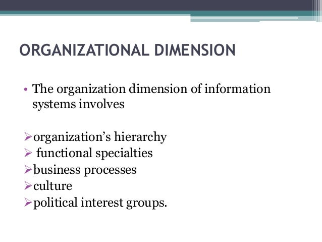 dimensions of information systems The moral dimensions of information systems essentials of management information systems chapter 12 ethical and social issues in information systems.