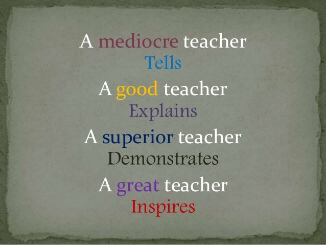 how to become a great teacher