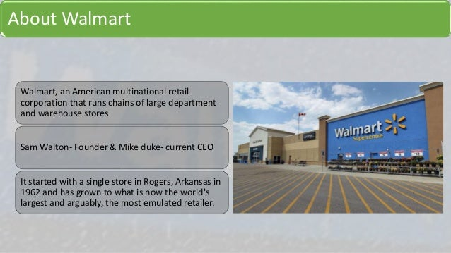 case study supply chain management of walmart View walmart supply management case study from fm 262 at fit fm 262 contemporary retail (section 211) lori bae case study walmart: pioneer in supply chain management discussion questions: 1) how does an individual firm like walmart manage a supply chain.