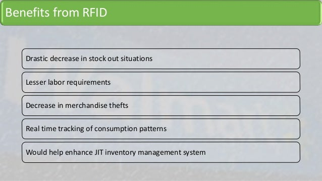 Inventory management system with rfid information technology essay