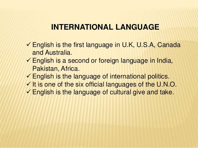 importance of english as a second language in pakistan