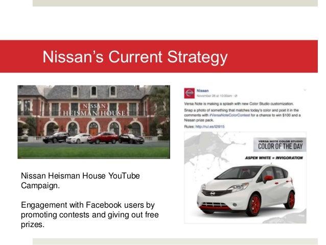 Nissan usa digital marketing strategy proposal for Marketing strategy of nissan motor company