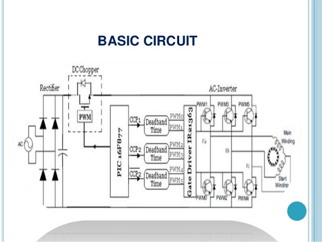 Wiring Diagram Single Phase Variable Frequency Drive Circuit